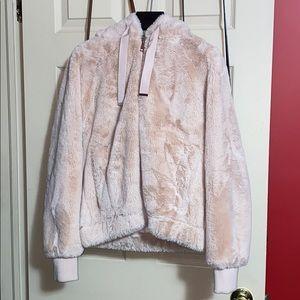Soft Pink Fur Jacket